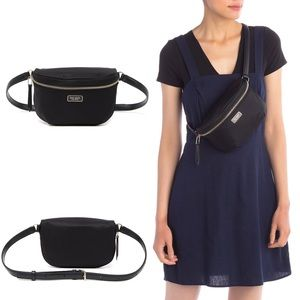 Kate Spade Dawn Nylon Belt Bag Fanny Pack Black